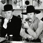 Charles Laughton (L) and Charlie Ruggles in Ruggles Of Red Gap