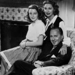 Mary Livingstone with Jack Benny and their daughter, Joan
