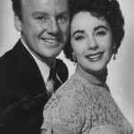 Van Johnson with Elizabeth Taylor