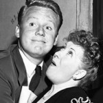 Van Johnson with Gracie Allen