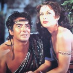Victor Mature with Hedy Lamarr in Samson & Delilah 1949