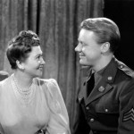 Faye Bainter with Van Johnson (in The War Against Mrs. Hadley)