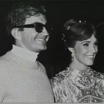 Blake Edwards with wife Julie Andrews