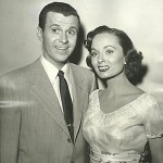 Dennis Day with sister-in-law actress Ann Blyth