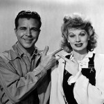 Dick Powell with Lucille Ball