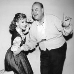 Don Wilson with Shari Lewis 1962